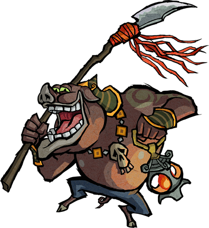 File:Moblin Artwork (The Wind Waker).png