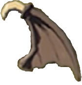 File:Breath of the Wild Materials Keese Wing (Render).png