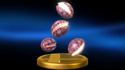 Super Smash Bros. for Wii U Deku Nuts (Item) Deku Nuts (Trophy)