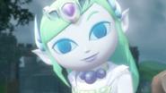 Hyrule Warriors Toon Zelda Ghost Zelda (Victory Cutscene)