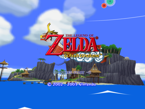 Title Screen (The Wind Waker)