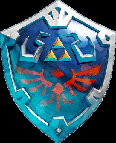 File:Hylian Shield Artwork (Skyward Sword).png