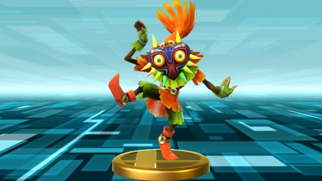File:Super Smash Bros. for Wii U Skull Kid (Majora's Mask) Skull Kid (Trophy).png