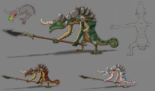 File:Breath of the Wild Artwork Lizalfos (Concept Art).png