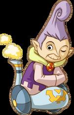 Anjean, um membro dos Lokomos