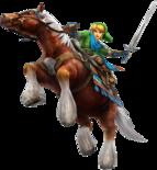 Link Epona (Hyrule Warriors)
