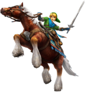 Link Epona (Hyrule Warriors)