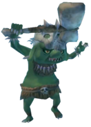 Skyward Sword Bokoblin Green Bokoblin (Render)