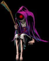 Majora's Mask 3D Artwork Ghost Hunter (Official Artwork)