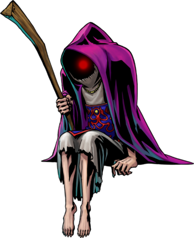 File:Majora's Mask 3D Artwork Ghost Hunter (Official Artwork).png