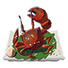 Breath of the Wild Food Dish (Crab) Salt-Grilled Crab (Icon).png