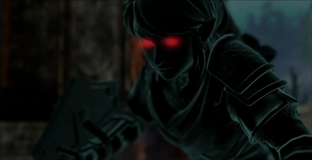 File:Dark Link Appearing In Hyrule Warriors.png