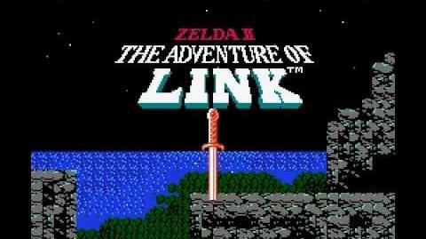 Zelda II The Adventure of Link Prologue