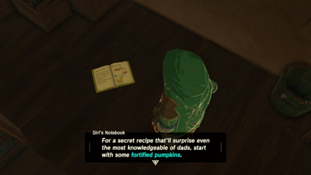 File:Breath of the Wild Cook Books Girl's Notebook (Hateno Village).png