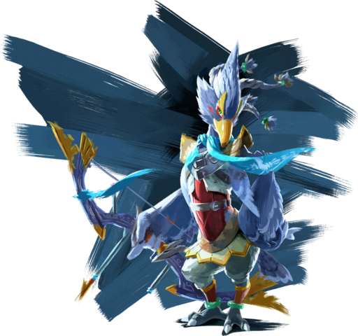 File:BotW Revali Artwork.png