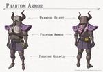 Breath of the Wild DLC Armor Phantom Armor Set (Phantom Helm, Phantom Armor, & Phantom Greaves)