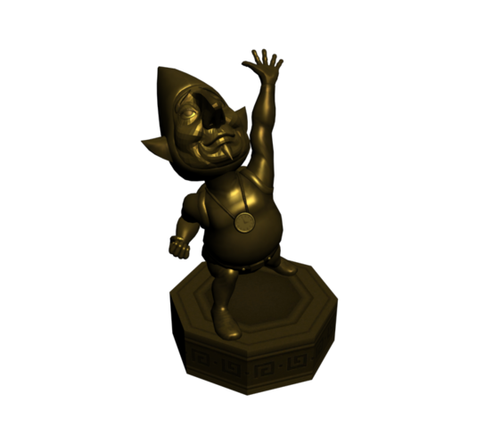 File:Hyrule Warriors Tingle Tingle Statue (Model Render).png
