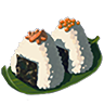 Breath of the Wild Food Dish (Rice Balls) Seafood Rice Balls (Icon).png