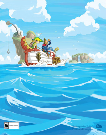 File:Phantom Hourglass Club Nintendo Poster.png