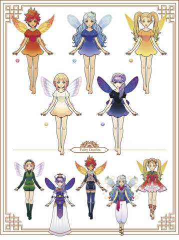 File:Hyrule Warriors Legends My Fairy Companion Fairies (Artwork).png
