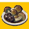 File:Breath of the Wild Food Dish (Honey Glazed) Glazed Mushrooms (Icon).png
