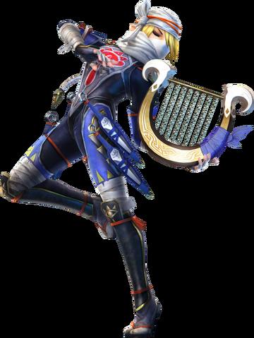 File:Sheik Goddess Harp (Hyrule Warriors).png