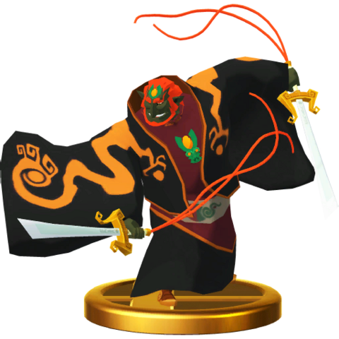 File:Super Smash Bros. for Wii U Toon Ganondorf (The Wind Waker) Toon Ganondorf (Trophy).png