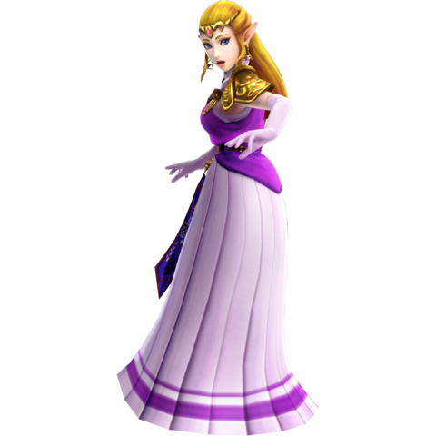 File:Hyrule Warriors Princess Zelda Era of the Hero of Time Robes (DLC Costume).png