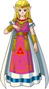 Artwork of Zelda from A Link to the Past