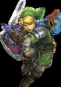 Hyrule Warriors Legends Link Master Sword & Hylian Shield (Render)