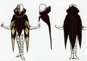 Skyward Sword Artwork Ghirahim Demon Lord (Concept Art)