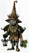 Twilight Princess Artwork Skull Kid (Concept Art)