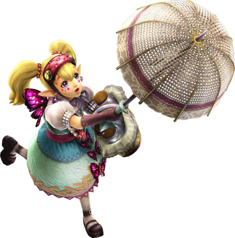 File:Agitha Parasol (Hyrule Warriors).png