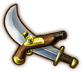 Hyrule Warriors Legends Cutlass Pirate Cutlass (Level 1 Cutlass)