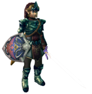 Twilight Princess Tunics Magic Armor - No Rupees (Render)