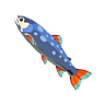 File:Breath of the Wild Fish (Trout) Stealthfin Trout (Icon).png