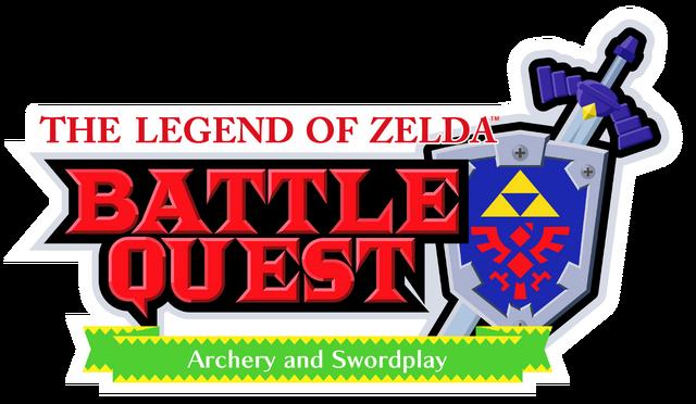 File:The Legend of Zelda - Battle Quest (logo).png