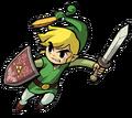 Link Artwork 7 (The Minish Cap)