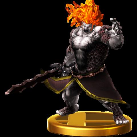 File:Super Smash Bros. for Wii U Demon King Demise Demise (Skyward Sword Trophy).png