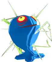 File:The Wind Waker ChuChu Blue ChuChu (Render).png