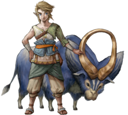 Link and Ordon Goat