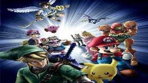 Super Smash Bros Brawl - Zelda Ocarina of Time Melody