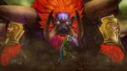 Hyrule Warriors Liberation of the Triforce Dark Beast Ganon VS The Hero Link (Cutscene)