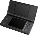 Une Nintendo DSi ouverte et fermée