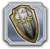 Hyrule Warriors Materials Holy Hylian Shield (Icon)