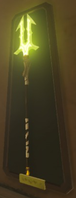 File:Breath of the Wild Elemental Spears (Thunder) Thunderspear (Weapon).png