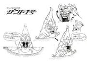 Twilight Princess Artwork Zant's Helmet (Concept Art)