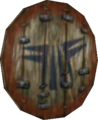 Twilight Princess Enemy Weapons Stalfos Wooden Shield (Render).png