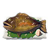 File:Breath of the Wild Food Dish (Salt-Grilled) Salt-Grilled Fish (Icon).png