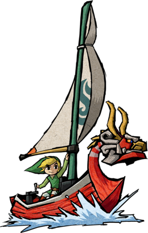 File:Link and the King of Red Lions Artwork.png